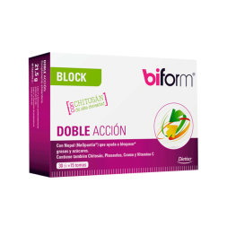 biform Block Doble Accion - 30 cápsulas
