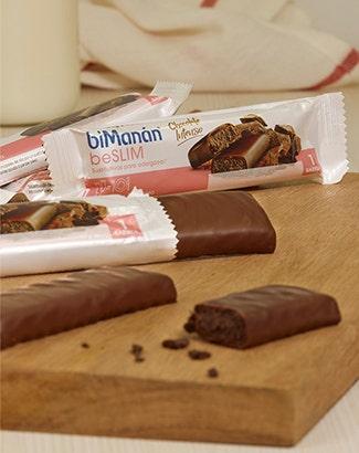 barritas beslim chocolate intense